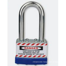 57mm Shackle Length Laminated Padlock Metal Steel Bd-J47
