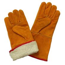 Boa Full Futter Sicherheit Winter Warm Schweißen Cut Resistant Handschuhe