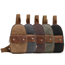 Waterproof Cross Body Bag Multi-Color High Quality Men Gym Casual Sling Chest Bags