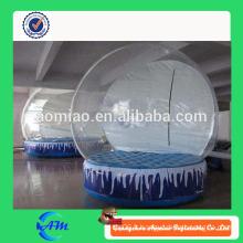 Nouveau ballon gonflable de neige de balles globales Ballon de neige gonflable de Noël à bas prix