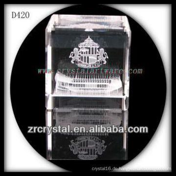 K9 3D-Laser-Untergrund-Architektur in Crystal Cube