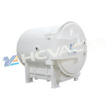 Máquina de revestimento plástica horizontal do vácuo da cor da máquina da metalização do vácuo da cor do Ab / cor do Ab