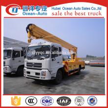 Dongfeng Kingrun 20Meters sobrecarga de trabajo del camión