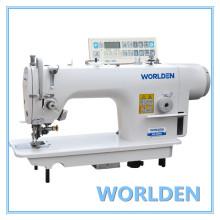 WD - 5200d alta velocidade lado cortador Lockstitch máquina de costura