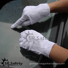 SRSAFETY White clean Inspection Gloves equipment best selling