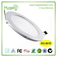 Shenzhen a conduit le panneau de lumière Prix d'usine rond 6w éclairage LED pour la maison et le bureau
