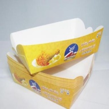 Fries chip paper cups takeaway fast food container