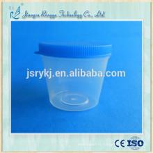 Tasse de collecte d'urine médicale jetable de haute qualité