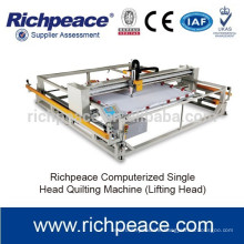 Popular computerized high speed single needle quilting machine for making quilts