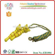Деревянные скакалки / Пропускные веревки Классические игрушки Рекламные игрушки