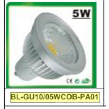 No regulable / regulable GU10 COB LED Spotlight