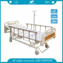AG-Bm107 mit Silent Wheels 3-Funktion ISO & Ce zugelassenes verstellbares Bett