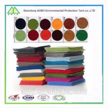 feltro de lã colorido