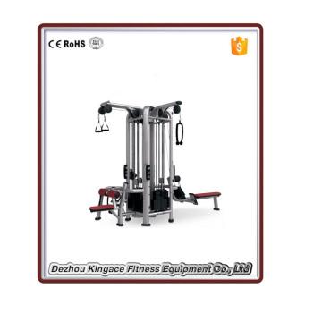 Équipement commercial de gymnase 4 Station Multi Gym Exercise Machine