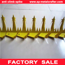 Galvanized steel bird spikes