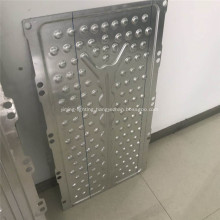 Aluminum heat collect plate for solar panel