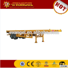 40HQ container flat bed trailer 6x4 trailer for sale