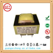 Transformador de baixa frequência 12v ac 1a