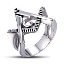 Anel personalizado do aço inoxidável da forma 2015