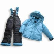 Children's Down Jacket and Pant with PU Coating