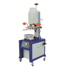 Flat to Back Slide Máquina de impresión automática de hoja caliente