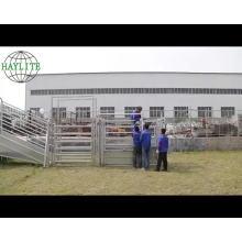Heave duty bovins yard porte de course coulissante portable à vendre