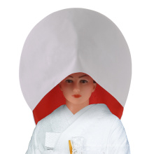 Japanische Hochzeit Perücke Krepp weiße Baumwolle Braut Hut