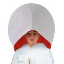 Japanese Wedding Wig Crepe White Cotton Bride hat