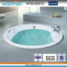 Baignoire hydromassage circulaire à encastrer / baignoire encastrée