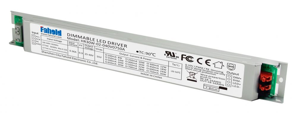 Utra slim led driver