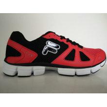 Brand Black Red Mesh Jogging Shoes Footwear
