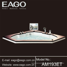 Drop-in Acrylic whirlpool Massage bathtubs/ Tubs with TV (AM193ET)
