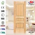 JHK-M03 Outerior Rare Raised Textura Hotel Europeu Brich Madeira Simples Porta MDF Pele