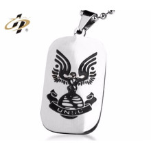 Free design custom metal made funny 2d dog tag printer