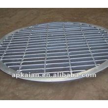 Anping de acero galvanizado por inmersión caliente rejilla de acero fabricante