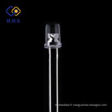 haute luminosité 5mm ronde IR conduit 850nm eau claire