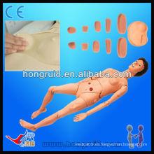 De alta calidad Avanzada de tamaño natural Full Funcional Medical enfermería maniquíes modelos de formación de enfermería para las mujeres