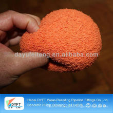 Zoomlion DN125(5 inch) concrete pump Cleaning sponge rubber balls