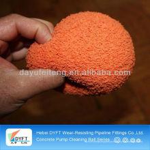 Bomba concreta de Zoomlion DN125 (5 polegadas) que limpa bolas da borracha da esponja