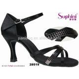 Shinning Crystal Ballroom Salsa Latin Dance Shoes Women