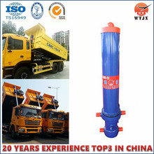 Cylindre télescopique hydraulique personnalisé OEM / ODM pour camion benne