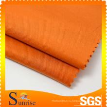 Популярный дизайн саржевого хлопка полосы полиэфирной ткани для одежды