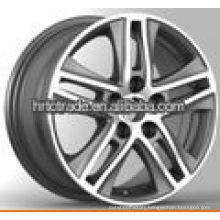 16/17 inch black new alloy replica rims for wholesale