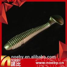 NOEBY appâts artificiels à 6 cm appuie douce en plastique à l'appât de pêche appuie douce