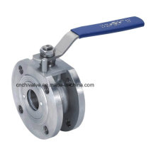 Нержавеющая сталь Италия Тип Вафельный шаровой клапан (AQ71F)