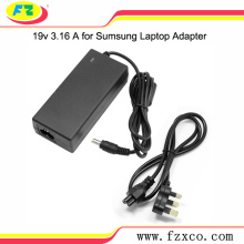 19V 3.16A laptop adapter oplader voor Samsung