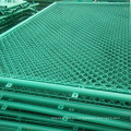Цепь PVC Покрынная связь Проволока сетка Заборная