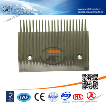 205.4 * 154mm, 22T Distance de trou 145mm JFSchindler Travelator Comb Plate (Side)