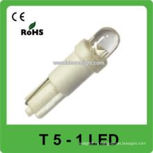12V светодиодный фонарь приборной панели автомобиля T5