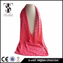 2015 kundenspezifischer Druck Jersey Unendlichkeit reversible Schal
